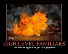 High level familiars