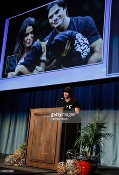 Ian Somerhalder attends the 1st Annual CatCon Awards Show at the 3rd Annual CatCon at Pasadena Convention Center on August 13, 2017 in Pasadena, California.