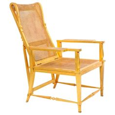 André Arbus Reclining Giltwood Chair, ca. 1945  $65,000