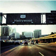 101 freeway Hollywood los angeles