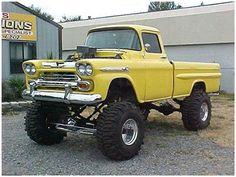 Chevy Gmc Trucks, Lifted Trucks, Cool Trucks, Pickup Trucks, Hot Rod Pickup, Old Pickup, Ford Girl, Chevy 4x4, Gm Car