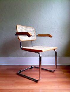 Portland: Vintage Knoll Thonet Cesca Armchair Marcel Breuer, Italy, 1920s  $375 - http://furnishlyst.com/listings/565579