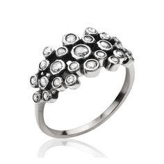 DYRBERG/KERN Silver - Ring Cas Silber Mat
