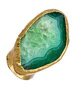 Agate stone rings are always a statement!
