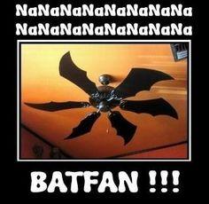 Batman being fan, for the fan