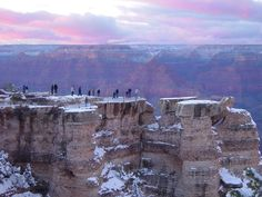 Grand Canyon in winter.....Brrrr1