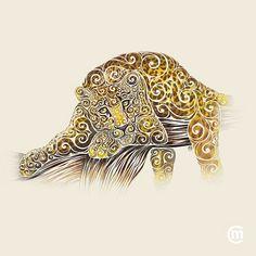 colorful-illustrations-swirly-animals-carolina-matthes-7