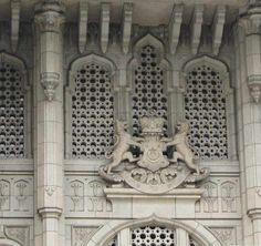 Detail of Bangunan Sultan Ibrahim, Johor Bahru