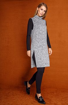 Mode Outfits, Fall Outfits, Casual Outfits, Jumper Dress, Knit Dress, Fashion Sewing, Sewing Clothes, Designer Wear, Fashion Details