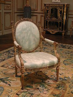 """courtroyale: """" Armchair by Georges Jacob French metropolitan museum """" Custom Made Furniture, My Furniture, French Furniture, Classic Furniture, Furniture Styles, Antique Furniture, Furniture Design, Chair Design, Luis Xvi"""