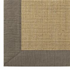 Sisal. My favorite floor covering.