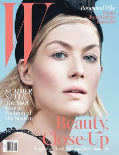 W Magazine May 2014 | Rosamund Pike by David Fincher & Willy Vanderperre