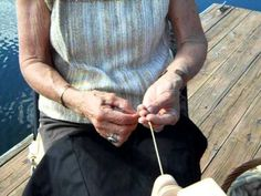 What a wonderful class this is.   what a joy to learn from joan.  Cotton Spinning Made Easy with Joan Ruane