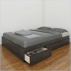 Nexera Atom Reversible Storage Bed Size: Full
