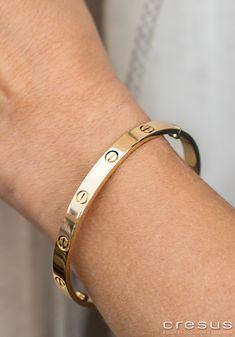 Love Bracelet Pave Bracelet Qualité 2 lignes Full Stone Cuff vis tournevis