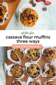 Gluten Free Baking, Gluten Free Desserts, Healthy Baking, Gluten Free Recipes, Vegan Recipes, Cassava Recipe, Cassava Flour Recipes, No Flour Recipes, Real Food Recipes