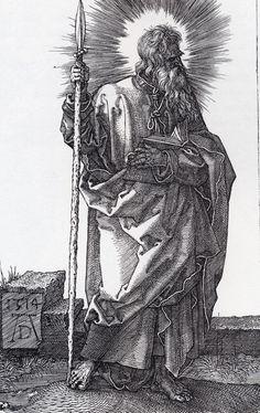 Albrecht Dürer - Saint Thomas