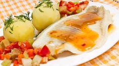 Receta de pescados y mariscos. Dorada con calabacines en salsa de naranja. Cómo hacer esta receta económica. Dorada con calabacines en salsa de naranja