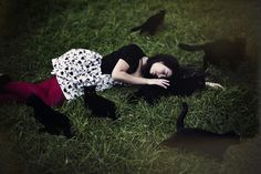 crazy cat lady by vampire-zombie.deviantart.com on @deviantART