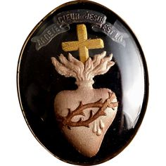 French Sacred Heart of Jesus Ex Voto