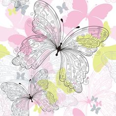 Set of Butterfly vector 02