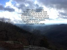 Mt View Ephesians 3: