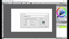 Setting up your canvas in Corel Painter