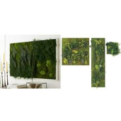 Indoor Vertical Wall Garden Wall Art. Green love in your home.Curated Cool: Focus On What's Unique & Chic From Around the World
