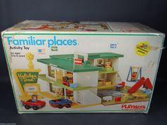 fisher price holiday inn | Vintage Fisher Price Little People Swimming Pool Playskool Holiday Inn ...