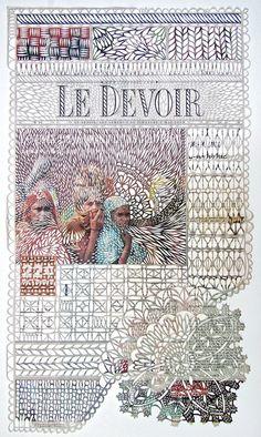 Cut Paper by Myriam Dion