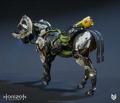 ArtStation - Horizon Zero Dawn - Charger, Lennart Franken
