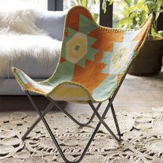 1938 bergama butterfly chair  | CB2