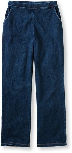 Perfect Fit Pants, Straight-Leg Denim Workout Pants, Perfect Fit, Bermuda Shorts, Just For You, Legs, Denim, Stylish, Classic, Fitness