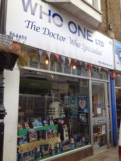 A first encounter with Doctor Who http://www.thebookshoparoundthecorner.co.uk/2013/11/a-first-encounter-with-doctor-who.html