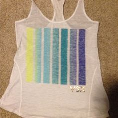 VSX XS Tank Runs big. Worn only once. Excellent condition Victoria's Secret Tops Tank Tops