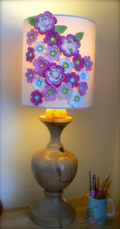 Lovely! I did a lampshade cover and displayed it today...need to take a picture.