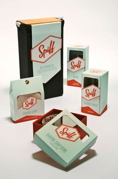 Packaging of the World: Creative Package Design Archive and Gallery: Spiff (Student Work)