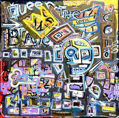 "Saatchi Art Artist Jonas Fisch; Painting, ""Contaminated"" #art"