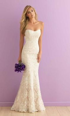 Allure Bridals 2903 wedding dress currently for sale at 21% off retail.