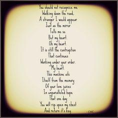 My Heart, Oh My Heart. #poetry #poem #courtneymarie #love #breakup  #movingon