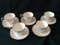 Royal Albert Avalon coffee set by JacquieAndJacque on Etsy, $125.00