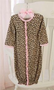 Leopard Sleep Gown (2077)