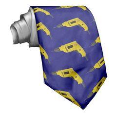 drill neck tie