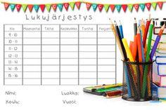 Lapset - Kids - Marlan kuvat Classroom Management, Back To School, Calendar, Entering School, Life Planner, Back To College