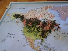 I want to do this! hands on biome map project for kids