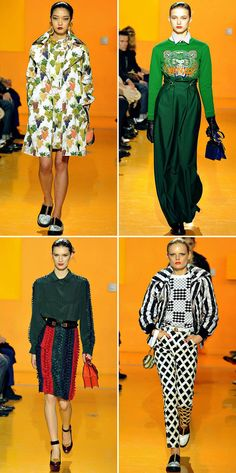 tablecloth prints if you dare. x Kenzo.