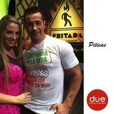 Faby Monarca e Marcos Oliver