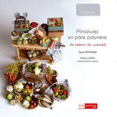 Crafts n Hobbies Book Miniatures in polymer by OiseaudeNim on Etsy, $25.00