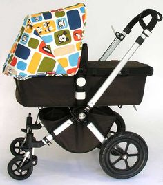 With new models only released every few years, Bugaboo keeps their current models exciting via special collaborations with designers. Here's a roundup of the past Bugaboo special editions. Bugaboo's first collaboration was with famous Dutch fashion designer Bas Kosters. He made the By Bas collection,
