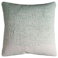 Simi Solid Stripe Throw Pillow - (18x18) - Rizzy Home